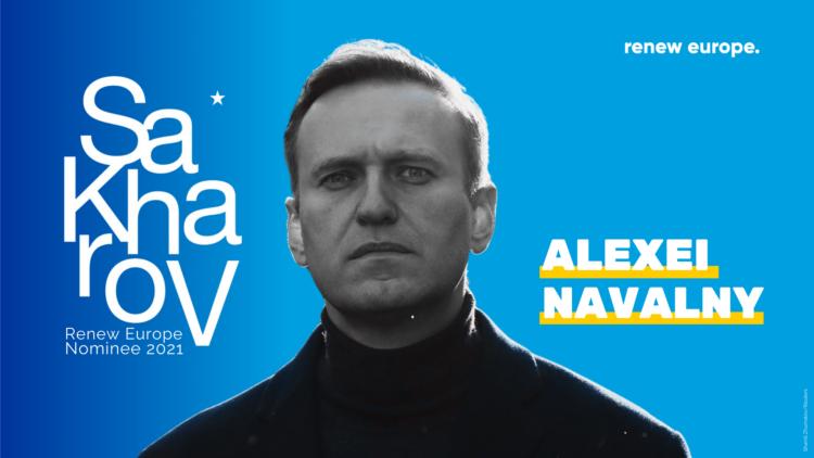 Sakharov 2021 Navalny Twitter